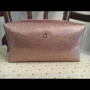 Kate Spade Rose Gold Cosmetic Case